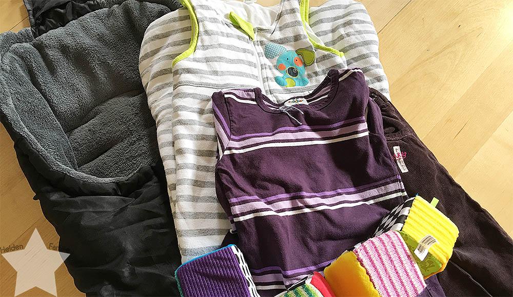 Wochenende in Bildern - Schuhkauf und Baby-Basar - Ausbeute vom Baby-Basar