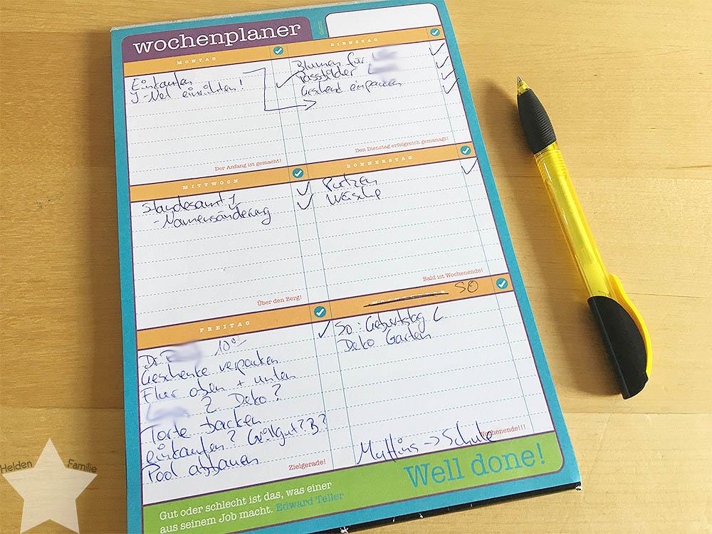 Wochenende in Bildern - 12. Geburtstag - To-Do-Liste vor dem Kindergeburtstag