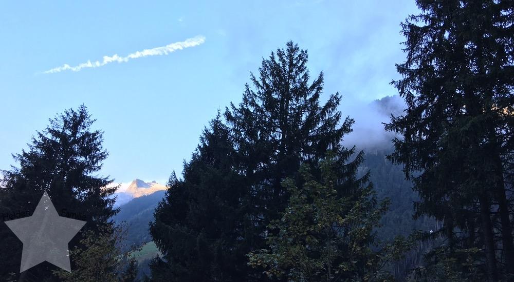 Wochenende in Bildern - Fahrt nach Italien - Aussicht in der Schweiz