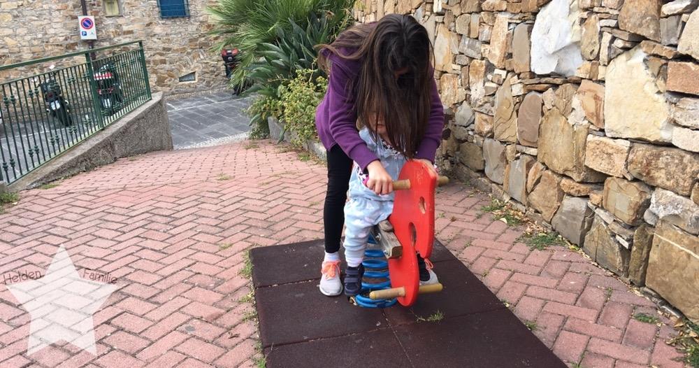 Wochenende in Bildern - Fahrt nach Italien - Spielplatz vor der Haustür