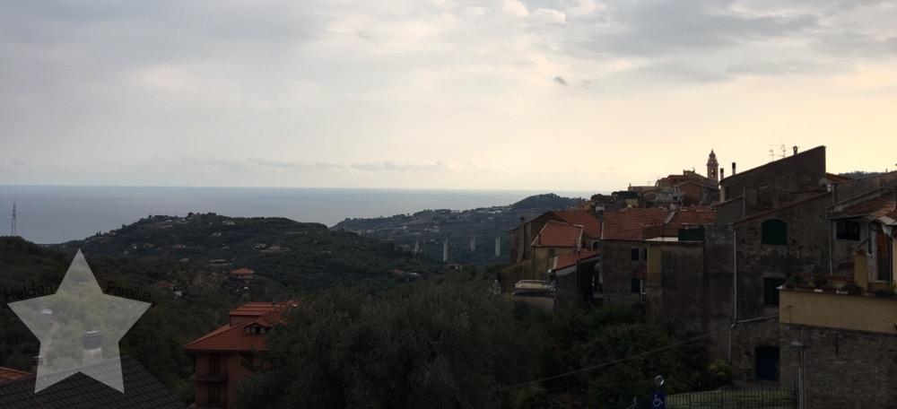 Wochenende in Bildern - Fahrt nach Italien - Ausblick von der Dachterrasse
