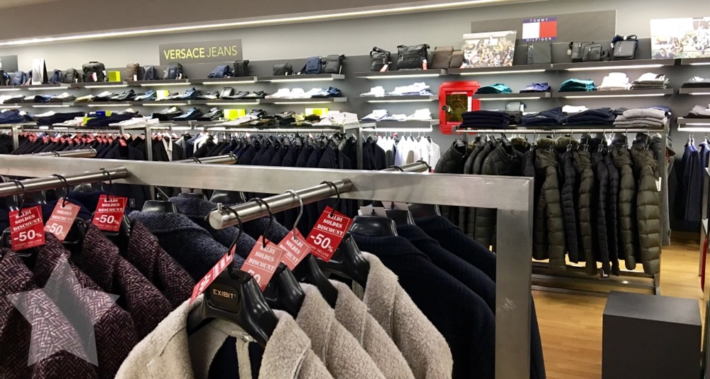 12von12 im Oktober - Shopping-fail - Outlet