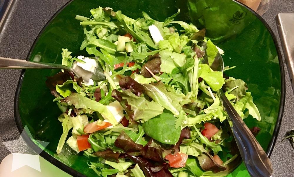 12von12 im Oktober - Shopping-fail - Salat zum Abendessen