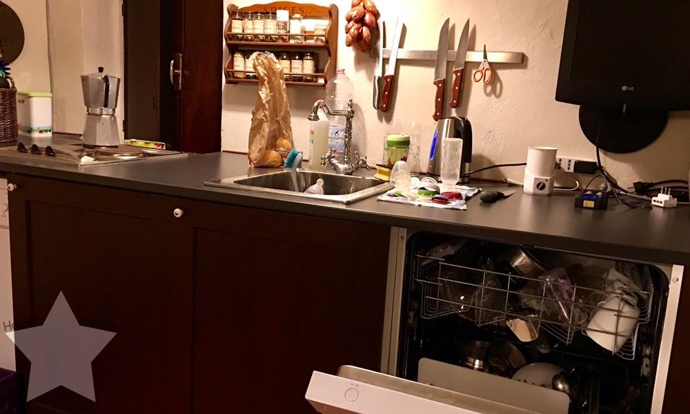 12von12 im Oktober - Shopping-fail - Küche aufräumen