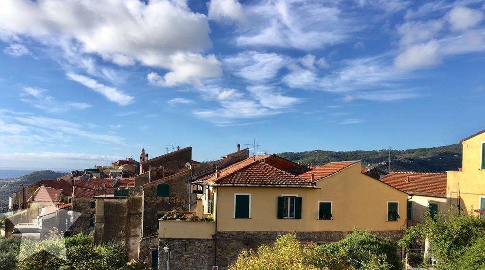 Wochenende in Bildern - Urlaub in Ligurien - Ausblick von der Dachterrasse