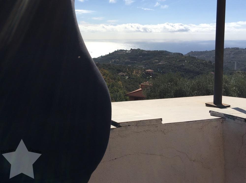 Wochenende in Bildern - Urlaub in Ligurien - Babybauch