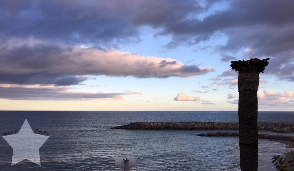 Wochenende in Bildern - Urlaub in Ligurien - Sonnenuntergang am Meer
