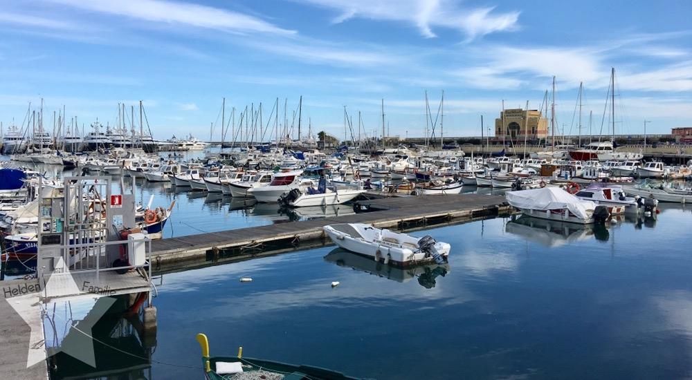 Wochenende in Bildern - Urlaub in Ligurien - Hafen in Porto Maurizio