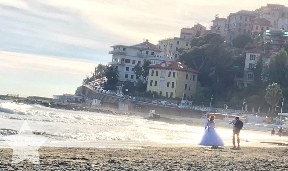 Wochenende in Bildern - Urlaub in Ligurien - Fotoshooting am Meer