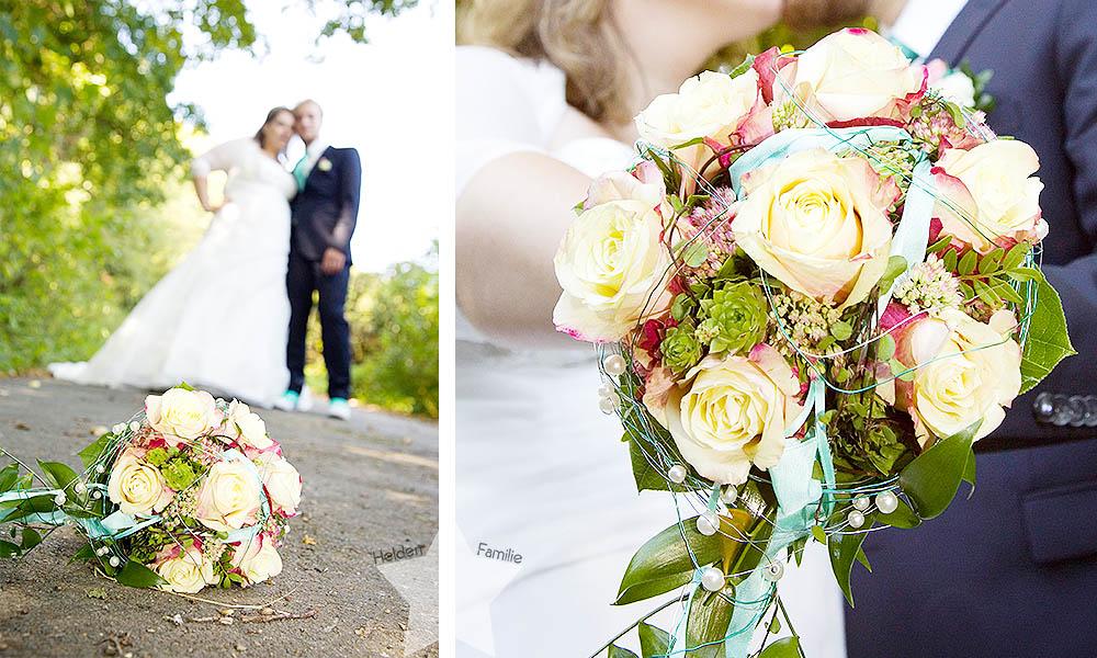 Hochzeit - Brautstrauß wird nicht geworfen