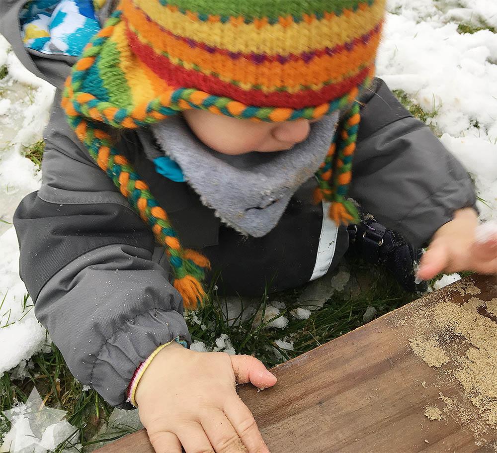 Freitagslieblings - Lieblingsinspiration - Lottes erster Schnee