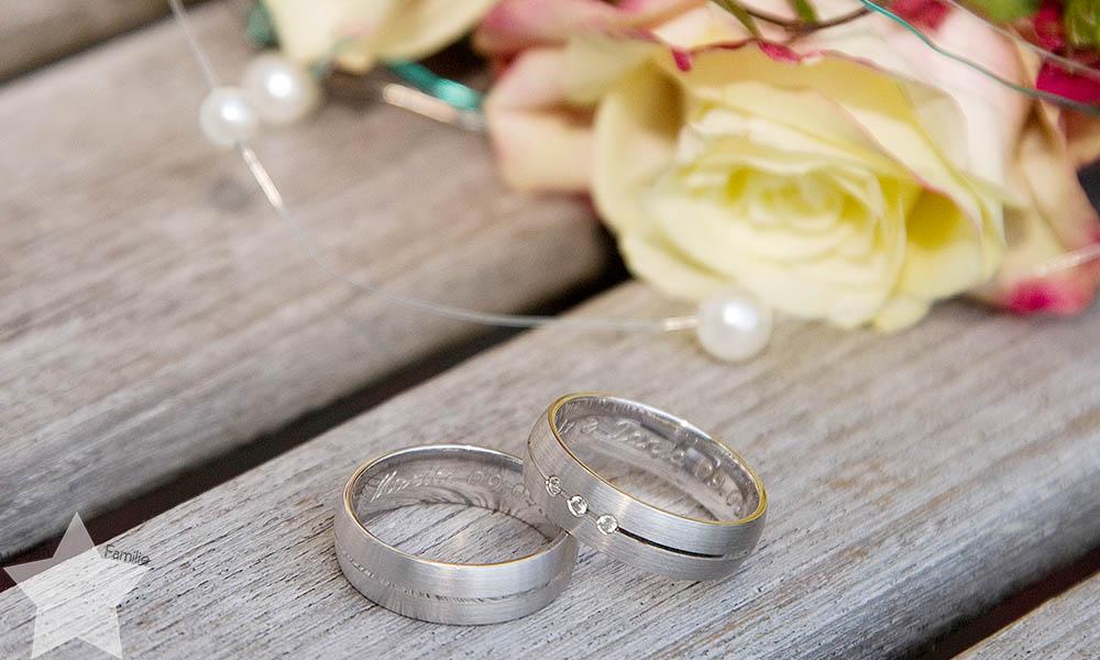 Hochzeit 2016 - wichtigstes - TOP Fünf - Eheringe - silber - graviert