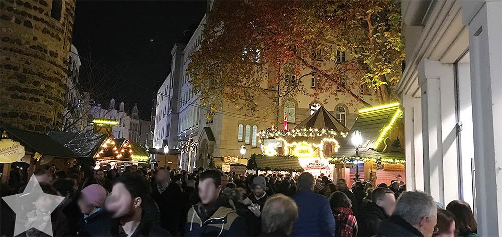 1. Adventswochenende in Bildern - Bonner Weihnachtsmarkt