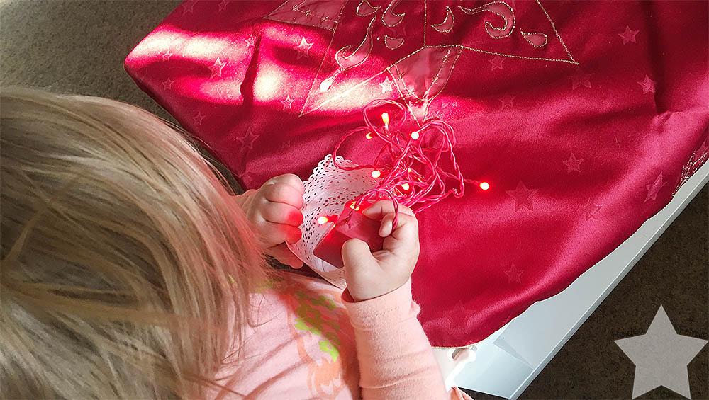 1. Adventswochenende in Bildern - Deko im Wohnzimmer