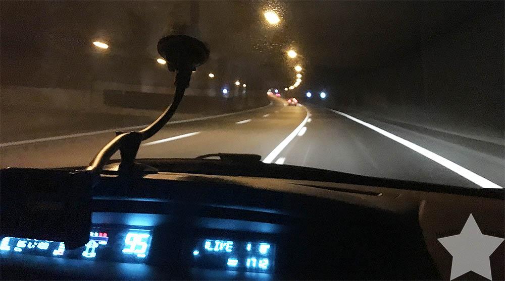 1. Adventswochenende in Bildern - Autobahn