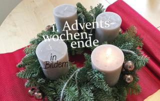 1. Adventswochenende in Bildern -