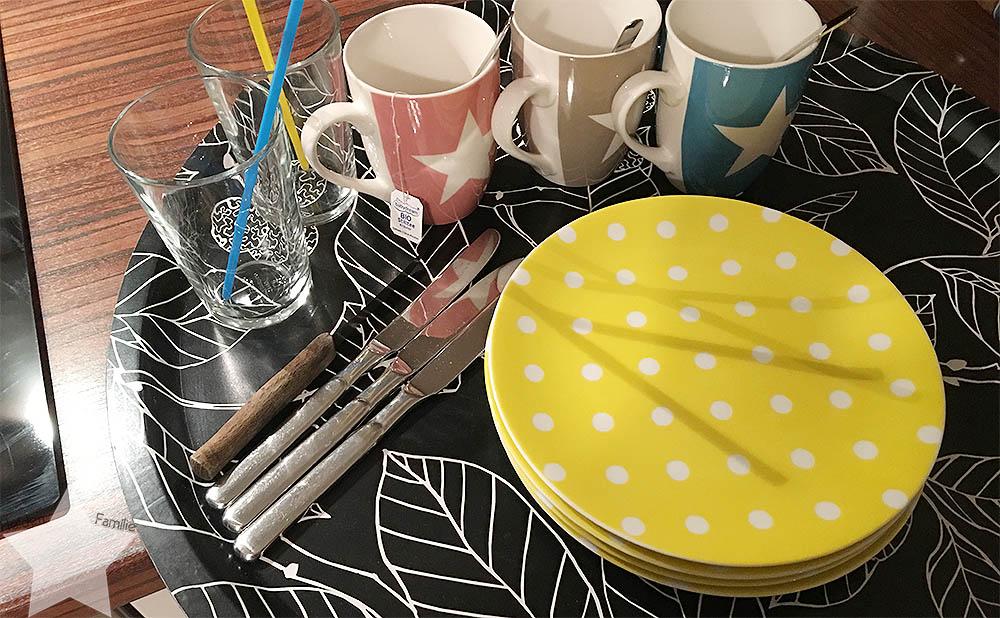Wochenende in Bildern - Sonntagsentspannung - Tablett für das Frühstück