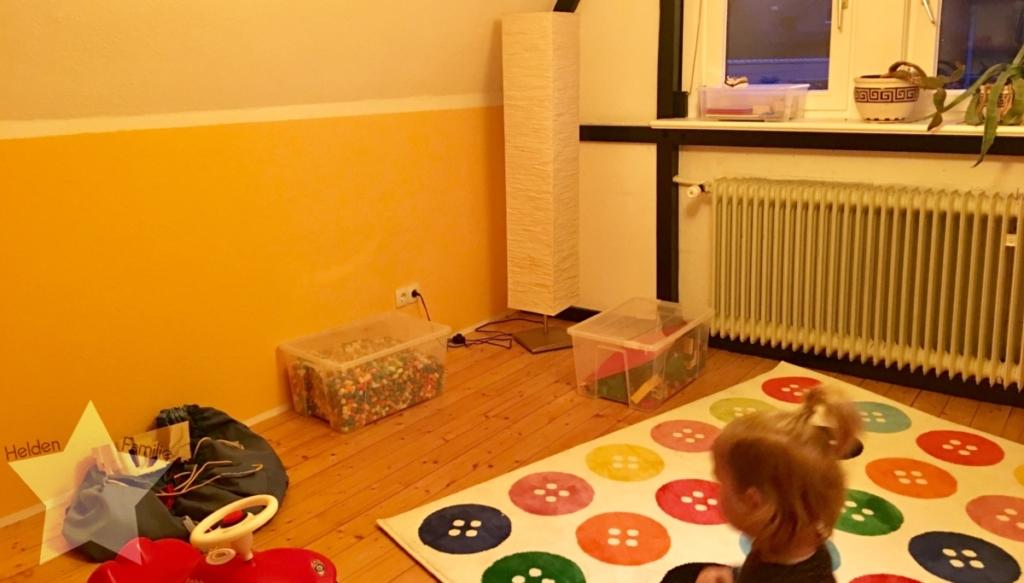 Wochenende in Bildern - Familienzeit - Kinderzimmer sortiert
