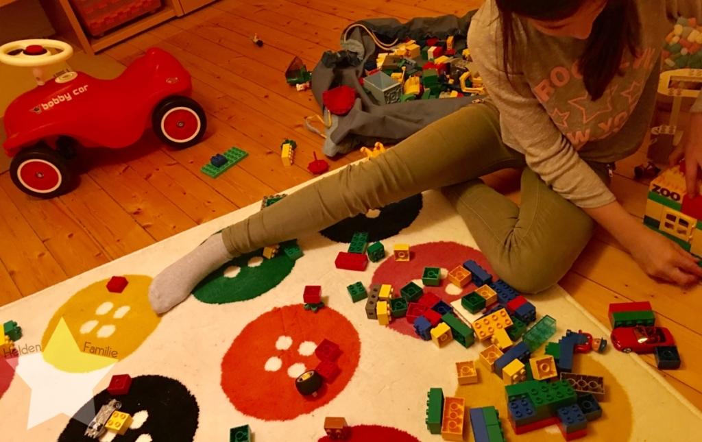 Wochenende in Bildern - Familienzeit - spielen im Kinderzimmer