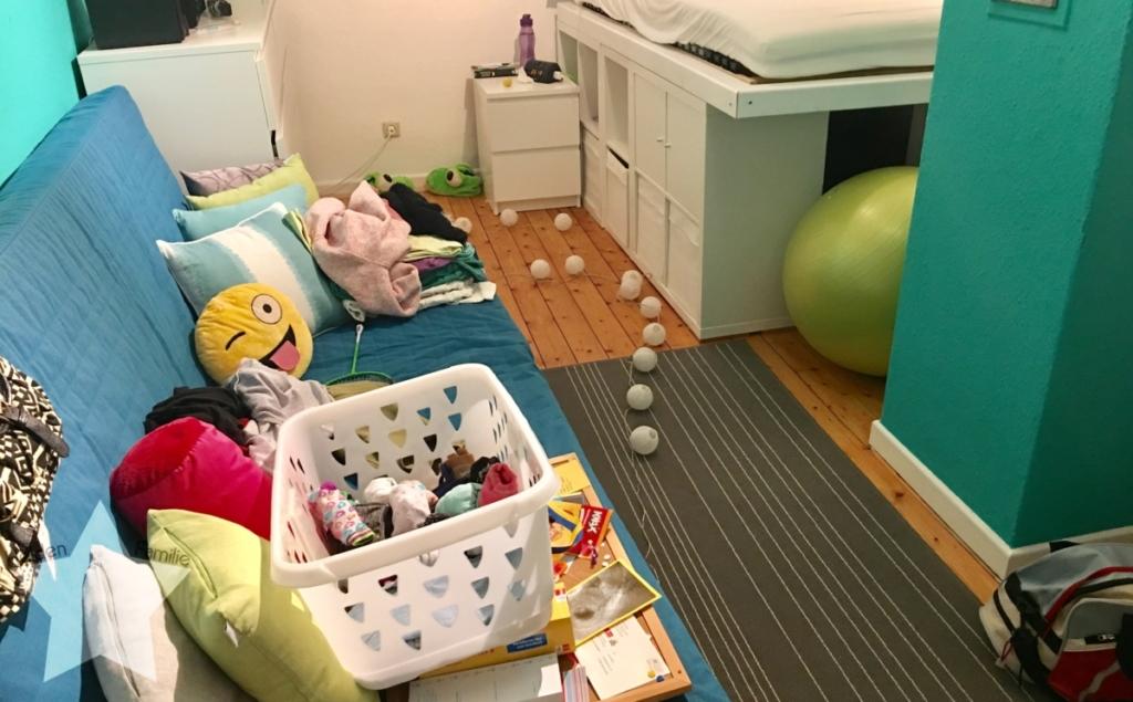 Wochenende in Bildern - Familienzeit - Chaotisches Jugendzimmer