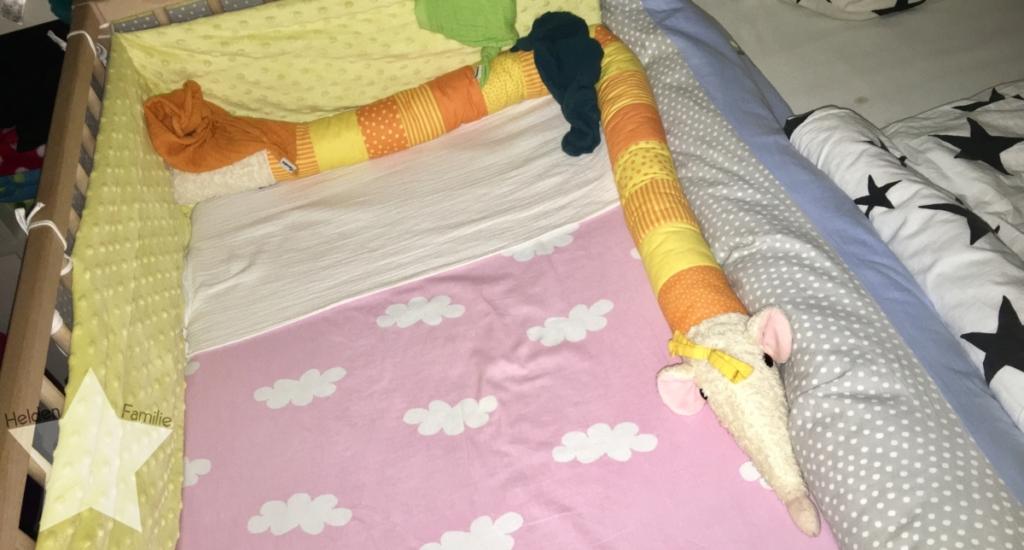 Wochenende in Bildern - Familienzeit - Babybett als Beistellbett