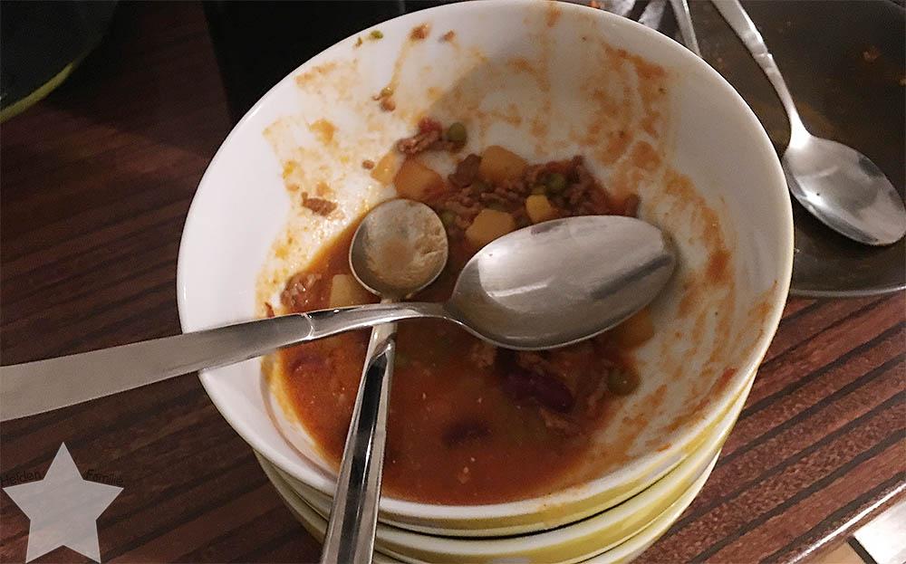 Wochenende in Bildern - Putzaktion & Babyvorbereitungen - Suppe von gestern