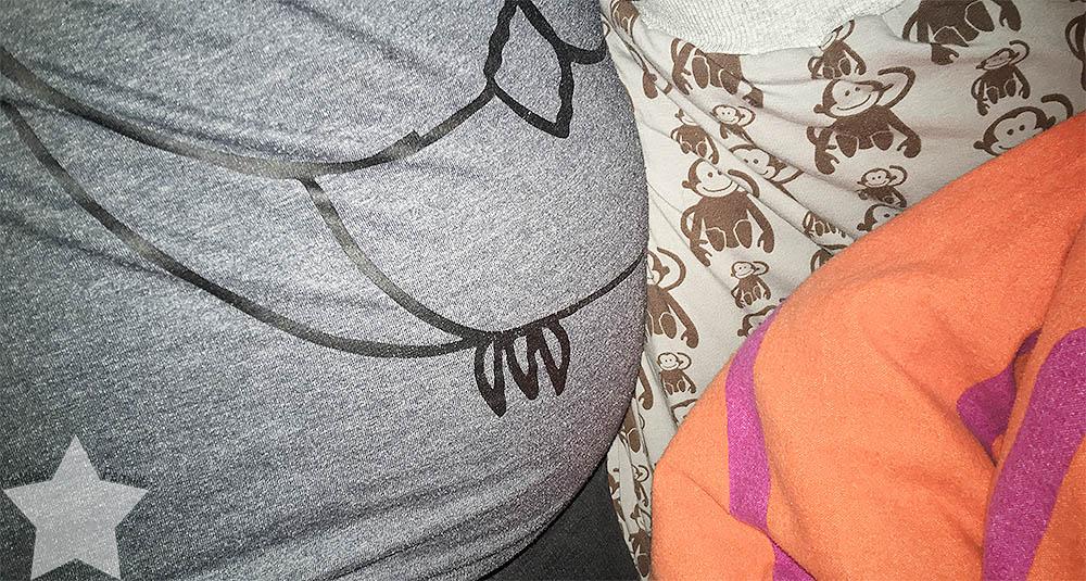 Wochenende in Bildern - Putzaktion & Babyvorbereitungen - 2 Std. Einschlafbegleitung