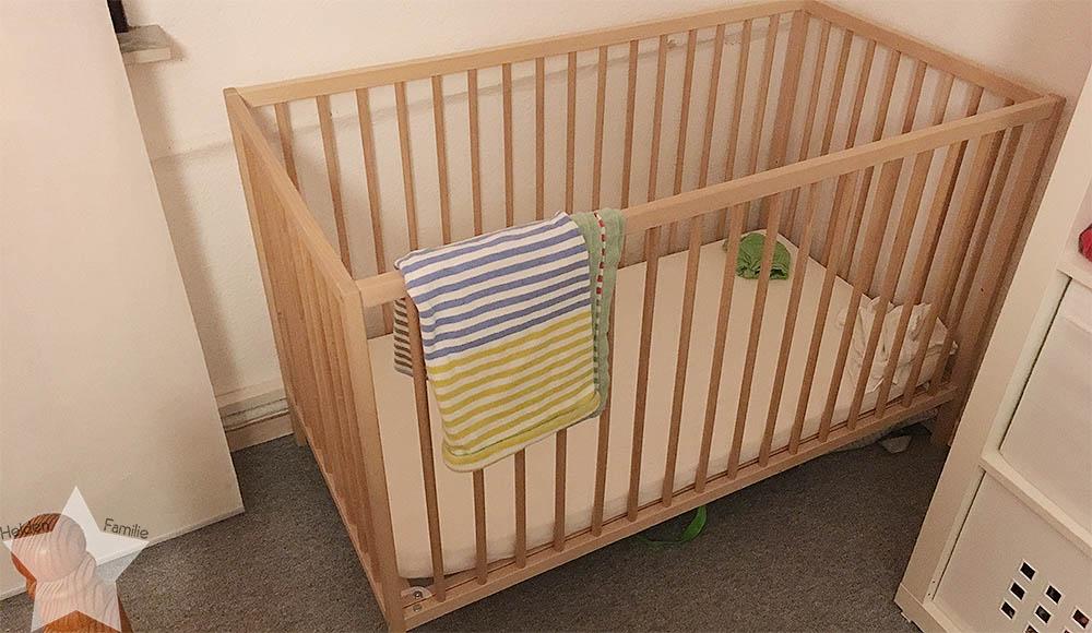 Wochenende in Bildern - Putzaktion & Babyvorbereitungen - zweites Babybett im Schlafzimmer