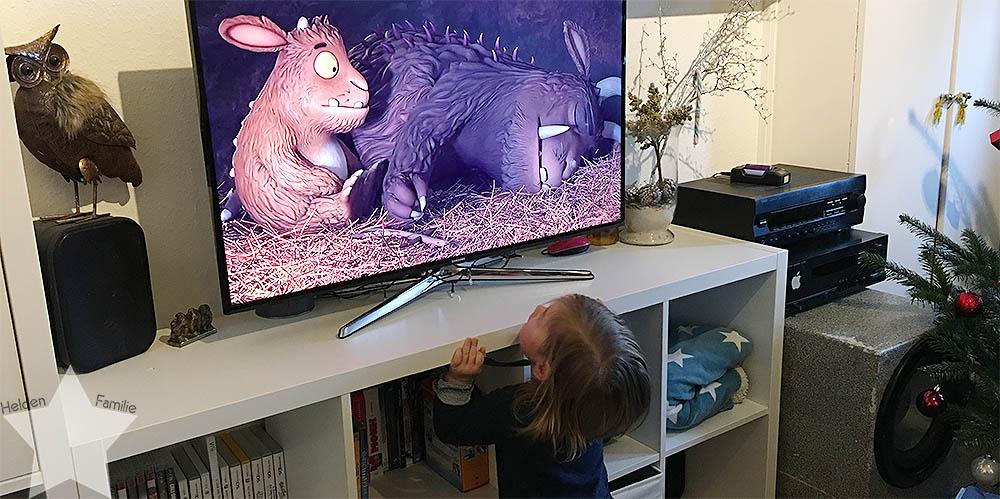 Weihnachten - Kleinkind mag kein TV