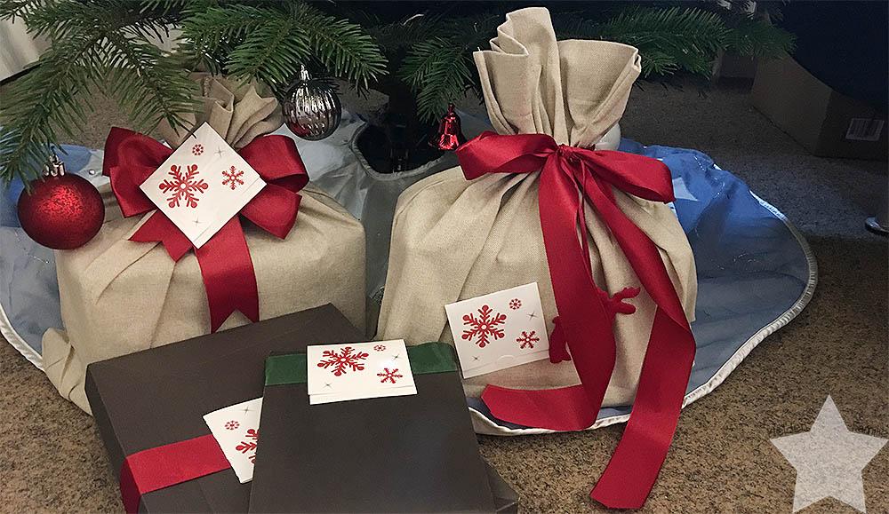 Weihnachten - Geschenke von Papa und Oma & Opa