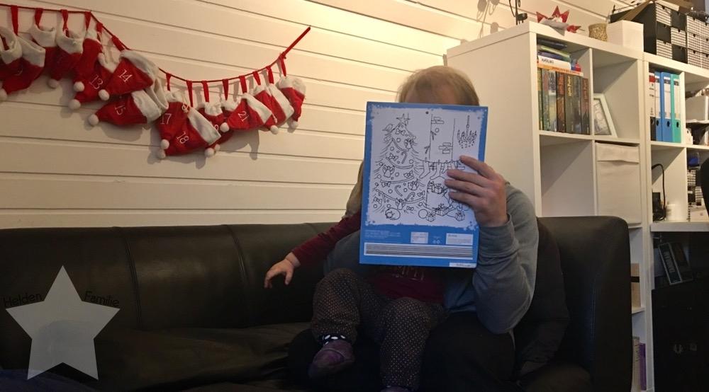 Wochenende in Bildern - Gesundwerden - Adventskalender Kleinkind