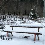 neue Nähprojekte & Schneegestöber | Wochenende in Bildern 07. & 08.01.