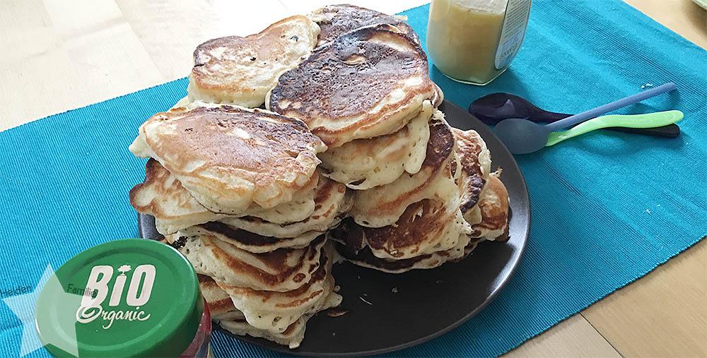 Wochenende in Bildern - Startschuss - Pancakes