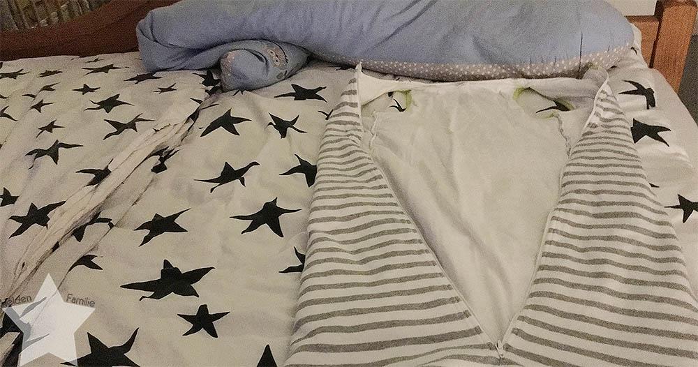 Wochenende in Bildern - Startschuss - Bett vorbereitet