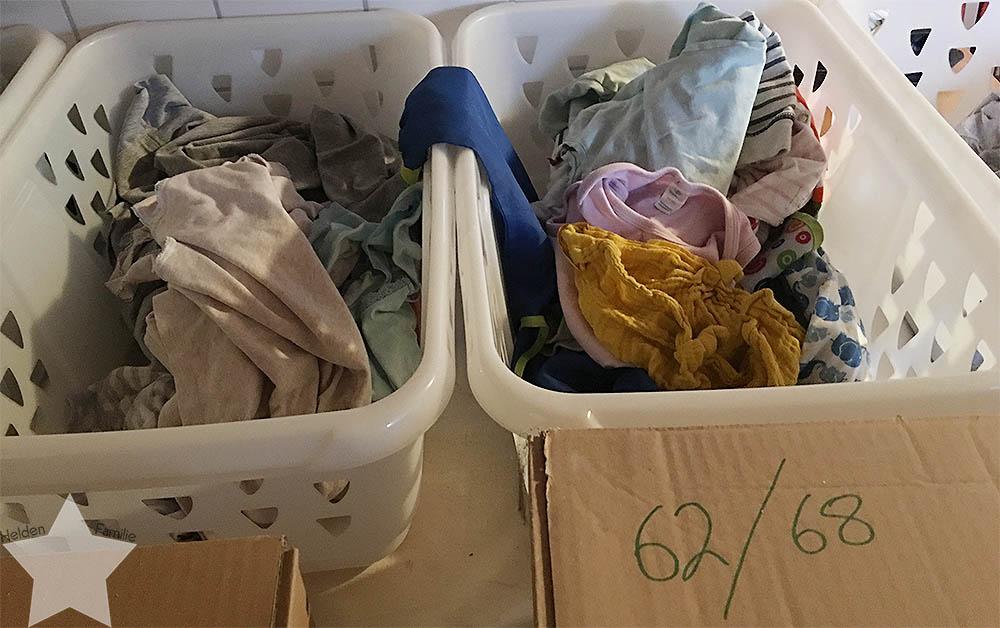 12von12 - ET -7 - Himbeerblättertee - Baby - Geburt - Wäsche sortieren