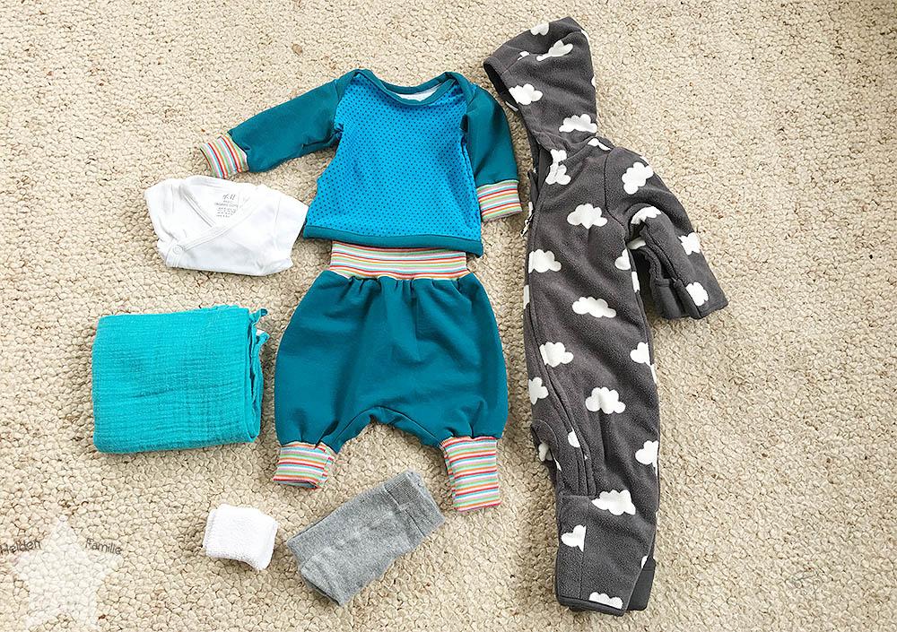 12von12 - ET -7 - Himbeerblättertee - Baby - Geburt - Nach-Hause-Fahr-Outfit für das Baby
