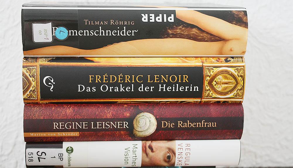 Bücher zu verschenken - Paket 1 - historische Romane