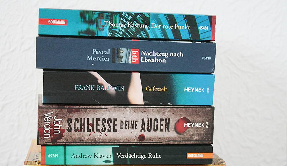 Bücher zu verschenken - Paket 2 - Taschenbücher - Krimis & Psychothriller
