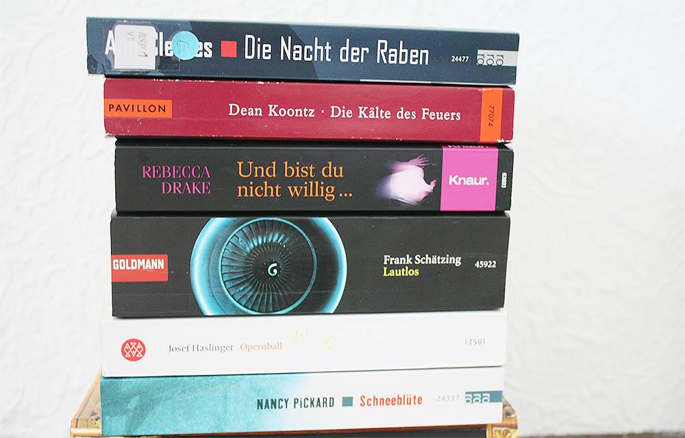 Bücher zu verschenken - Paket 3 - Taschenbücher - Krimis & Psychothriller