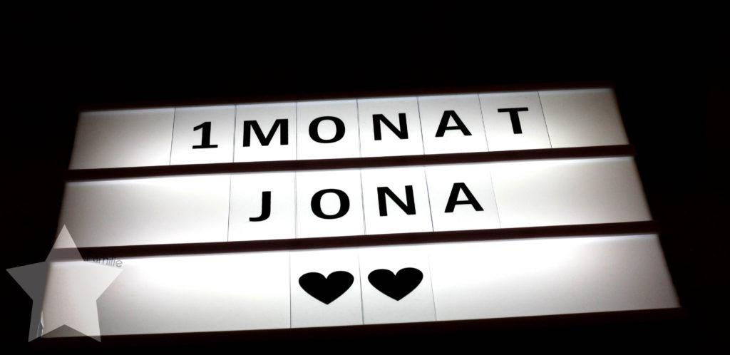 Märzpläne - zurück zum Flow - 1 Monat Jona