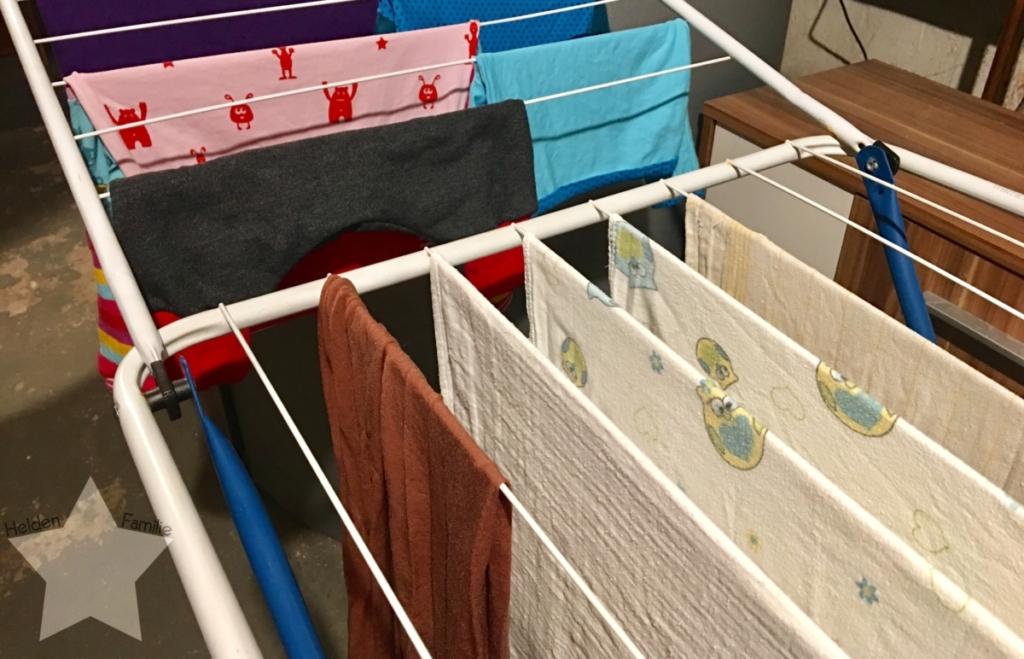 Wochenende in Bildern und 12von12 - Babyflausch - Wäsche waschen