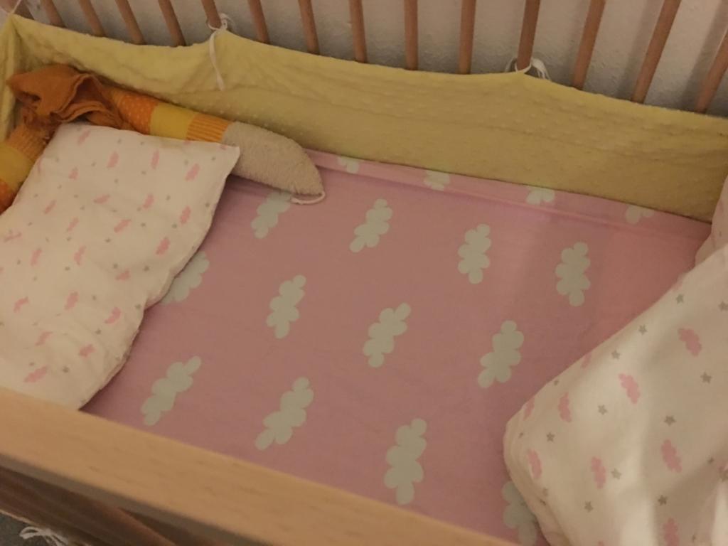 Wochenende in Bildern und 12von12 - Babyflausch - Bett frisch bezogen