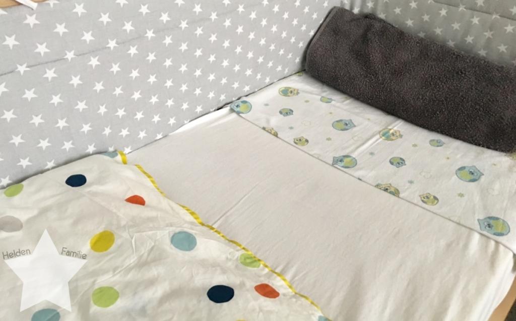 Wochenende in Bildern - Schlafdefizit & Familienzeit - Babybett als Beistellbett