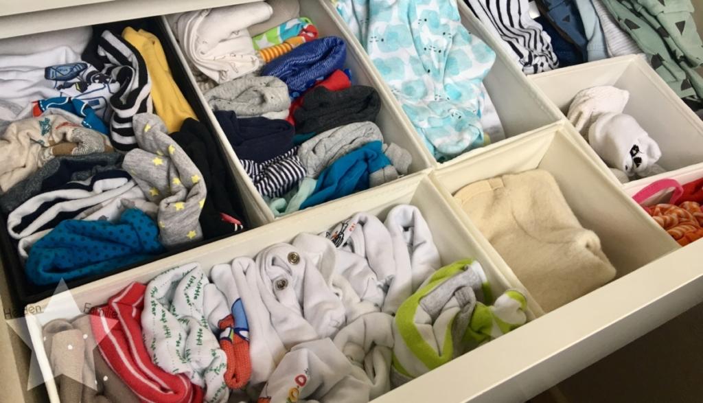 Wochenende in Bildern - Schlafdefizit & Familienzeit - Ordnung in der Wickelkommode