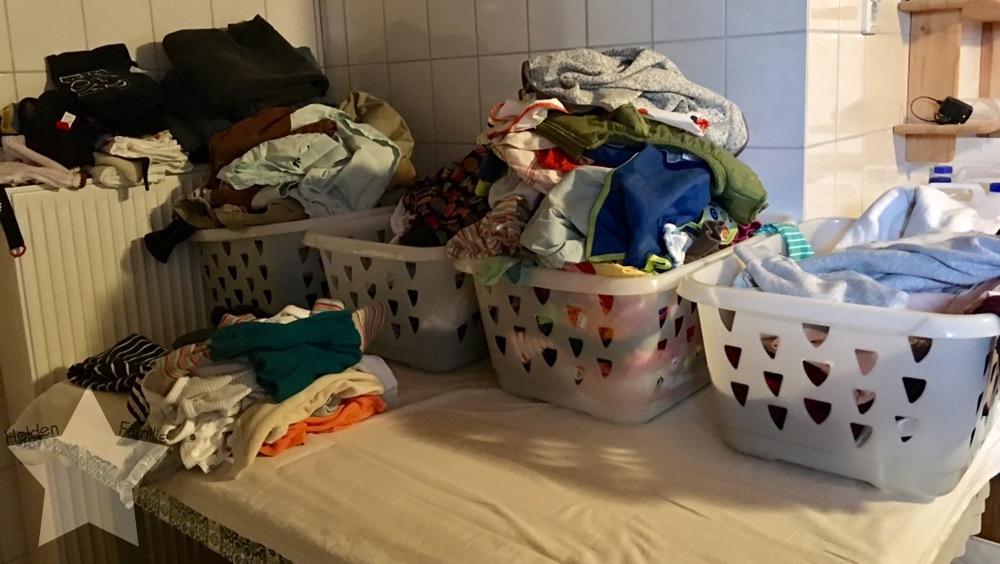 Bauchwehbaby und Abstillen - Wäsche