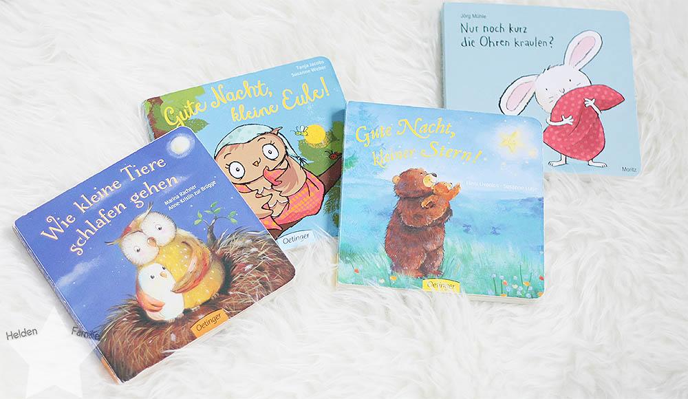 Wochenende in Bildern - Kinderkram und Haushalt - Gute-Nacht-Bücher