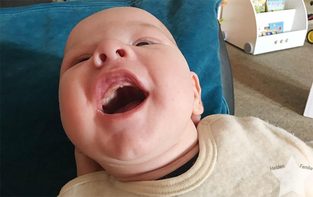 Wochenende in Bildern - Kinderkram und Haushalt - Babylachen
