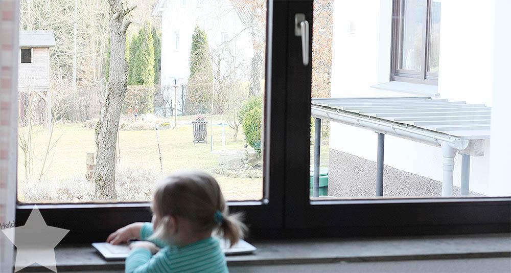 Wochenende in Bildern - Kinderkram und Haushalt - Büroarbeit mit zwei kleinen Kindern