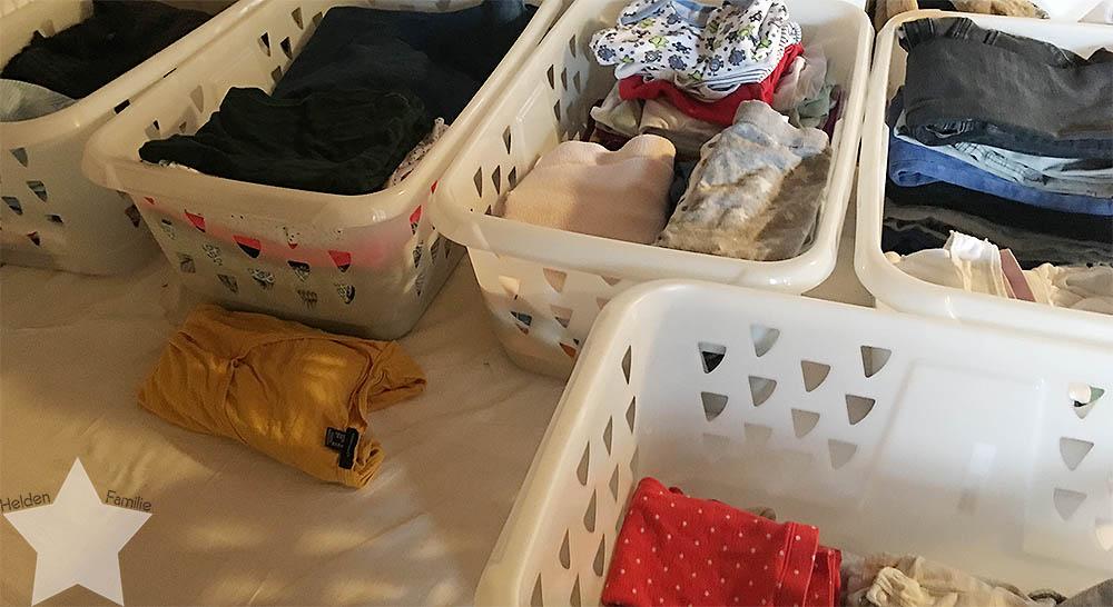 Wochenende in Bildern - Kinderkram und Haushalt - Wäsche von 5 Personen