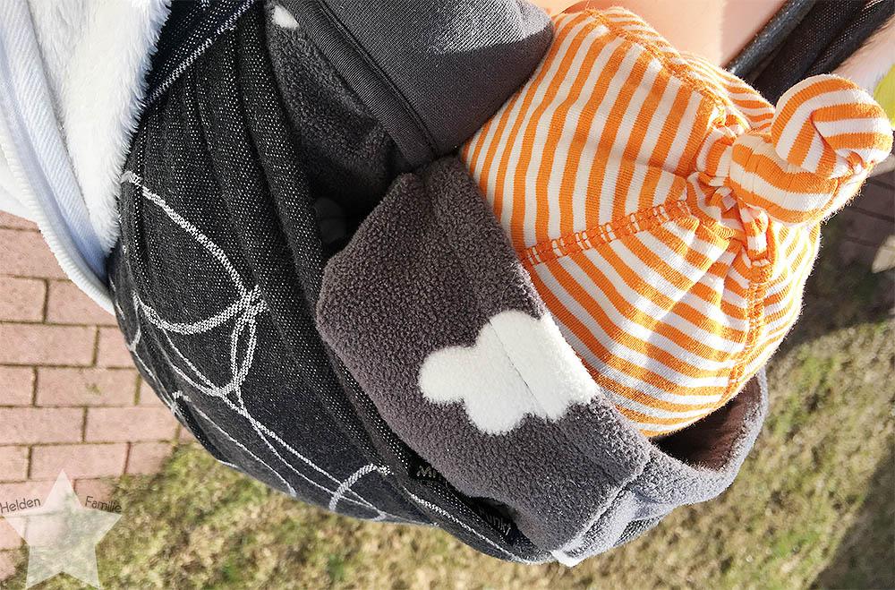 12von12 - Frühling - Baby im Tragetuch